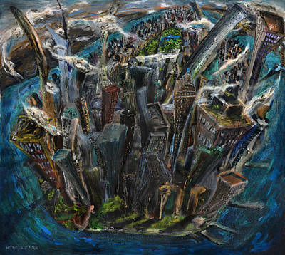 Painting - The Worlds Capital by Antonio Ortiz
