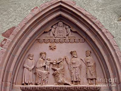 Jesus Christ Relief Photograph - The Worship Of The Magi 1 by Sarah Loft