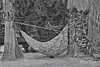 Photograph - The Woven Hammock by Natalie Ortiz