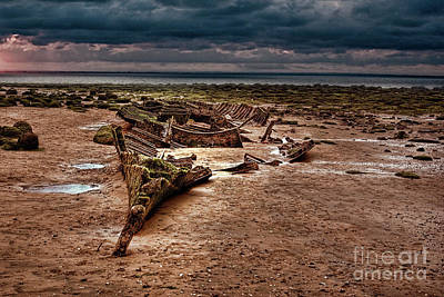 Trawler Photograph - The Wreck Of The Sheraton by John Edwards