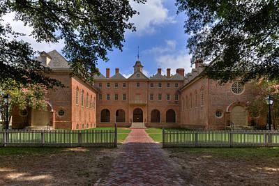 The Wren Building At William And Mary Art Print