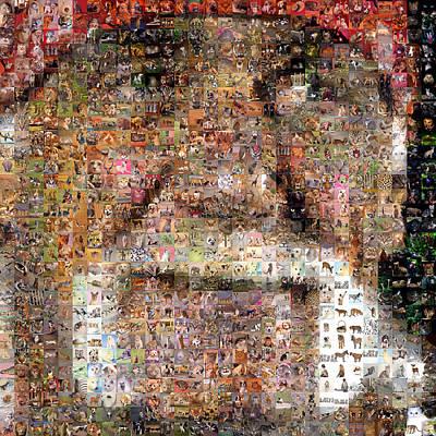 Viciedo Digital Art - The Wrestler by Gilberto Viciedo