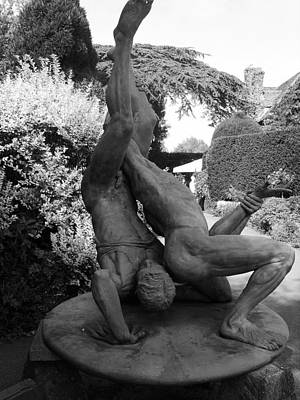 Nude Men Wrestling Photograph - The Wrestling Men 1 by Jeff Townsend