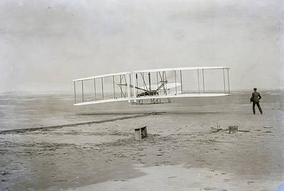 Observer Photograph - The Wright Flyer by Howard Roberts