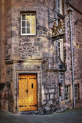 Photograph - The Writers Museum Edinburgh Scotland  by Carol Japp