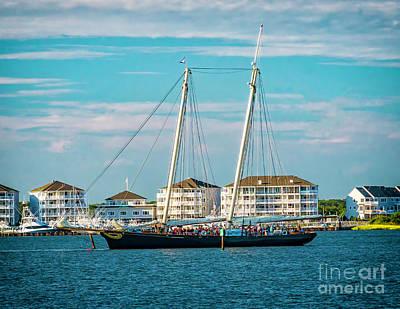 Photograph - The Yacht America by Nick Zelinsky