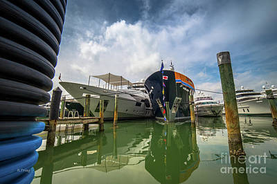 Photograph - The Yacht Capade by Rene Triay Photography