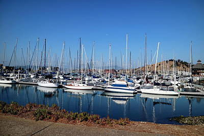 Photograph - The Yacht Club Marina Point Richmond, Ca by Joyce Dickens