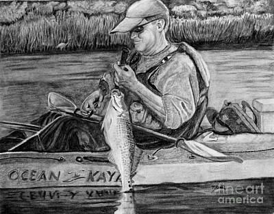 The Yak Fisher Art Print