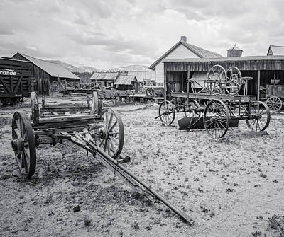 Photograph - The Yard Old South Park City by Al Reiner