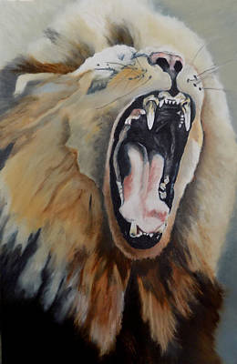 Painting - The Yawn by Maris Sherwood