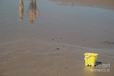 Photograph - The Yellow Bucket by Ana Mireles