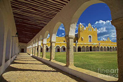 The Yellow City Of Izamal, Mexico Art Print