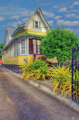 Photograph - The Yellow House by Nadia Sanowar