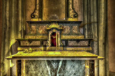 Photograph - The Yellow Light Church 3 - La Chiesa Della Luce Gialla 3 by Enrico Pelos