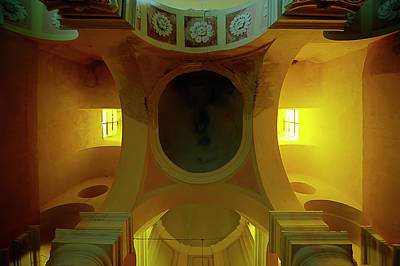 Photograph - The Yellow Light Church 4 - La Chiesa Della Luce Gialla 4 by Enrico Pelos