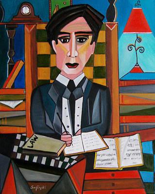 The Young Attorney Original by Karen Serfinski