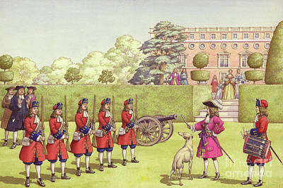 House Pet Painting - The Young Duke Of Gloucester Had His Own Army To Play With by Pat Nicolle