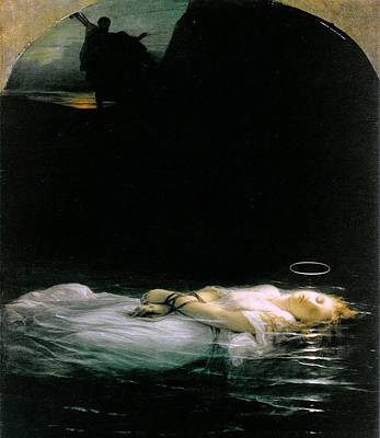 The Young Martyr  Art Print