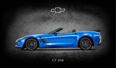 Muscle Cars Photograph - The Z06 by Mark Rogan