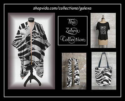 Photograph - The Zebra Collection by Geraldine Alexander