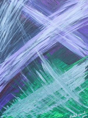 Painting - The Zebra Dream by Rachel Hannah