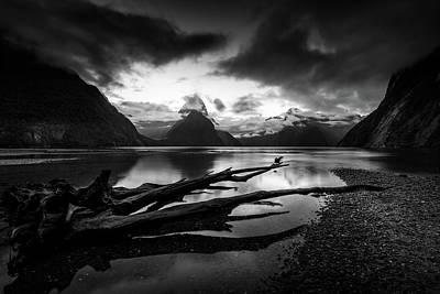 Aotearoa Photograph - The Zen Of The Fiords by Kumar Annamalai