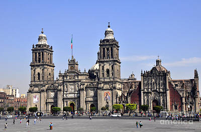 Photograph - The Zocalo by Andrew Dinh