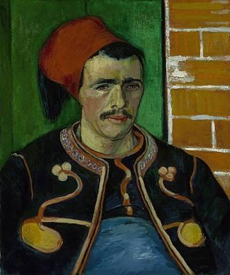 Painting - The Zouave Arles June 1888 Vincent Van Gogh 1853  1890 by Artistic Panda