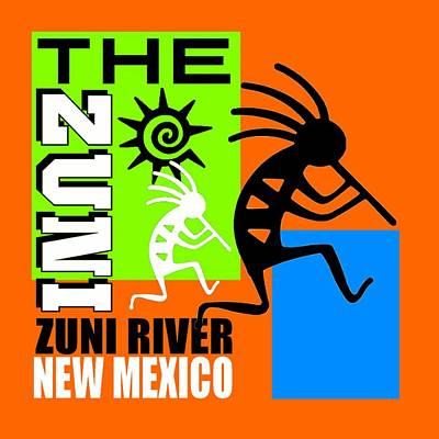 The Zuni-2 Art Print by Otis Porritt