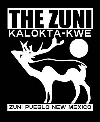 The Zuni Art Print by Otis Porritt