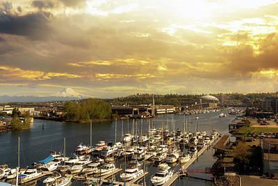 Wall Art - Photograph - Thea Foss Waterway In Tacoma Washington by David Gn
