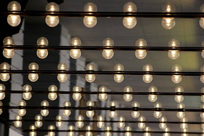 All American - Theater Lights Downtown Chicago by Colleen Cornelius