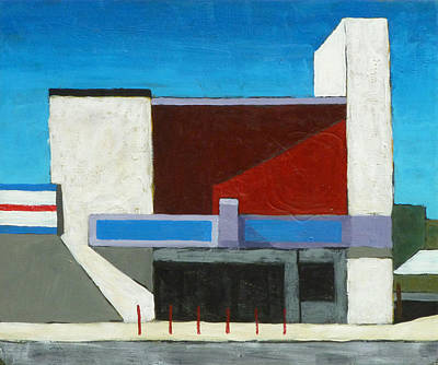 Michael Ward Painting - Theatre by Michael Ward