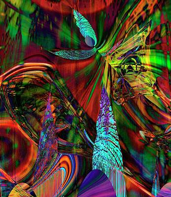 Digital Art - Theatre Of The Allured 2 The Teller Of Tales by Richard Thomas