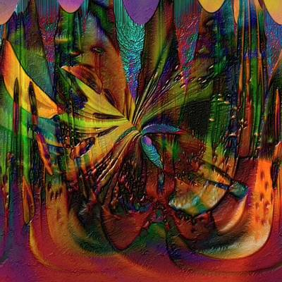 Digital Art - Theatre Of The Allured by Richard Thomas