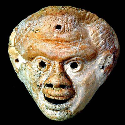 Pop Art - Theatrical masks. Graecoroman period. by Andy i Za