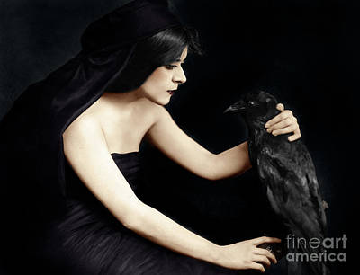 Photograph - Theda Bara by Granger