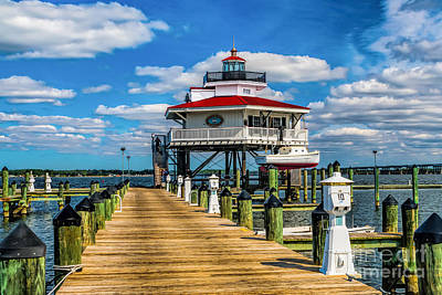 Photograph - The Dock Leads To The Lighthouse by Nick Zelinsky