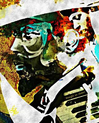Digital Art - Thelonious Monk by Lynda Payton