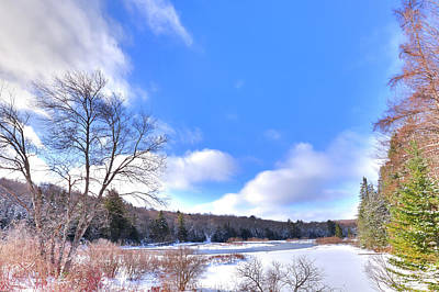 Photograph - Thendara Snow by David Patterson