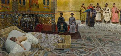 Painting - Theodora by Giuseppe de Sanctis