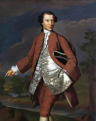 Painting - Theodore Atkinson Jr 1758 by Copley John Singleton