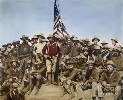 Theodore Roosevelt, 1898 Art Print by Granger