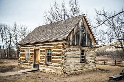 Theodore Roosevelt Cabin End Print by Paul Freidlund