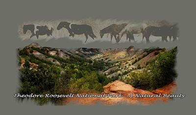 Theodore Roosevelt National Park Art Print