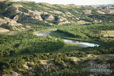 Photograph - Theodore Roosevelt National Park - Oxbow Bend by Jason Kolenda