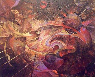 Theorem Art Print by Fred Wellner