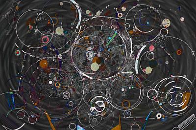 Digital Art - Theories Of Everything by Regina Valluzzi
