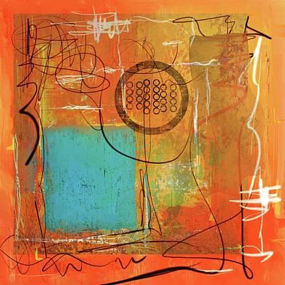 Digital Art - Theory Of Orange by Eduardo Tavares